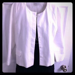Liz Claiborne White jacket - lovely!